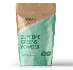 Supreme Greens Powder | Organic Superfood Drink 600G