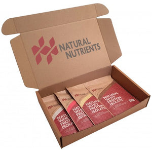 Whey Protein Sample Box - 4 x 30g Samples