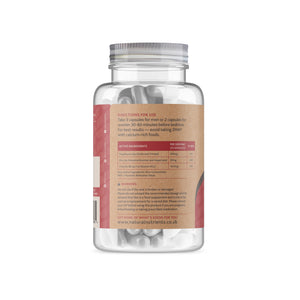 ZMA® Zinc and Magnesium Supplement - 180 Capsules Back