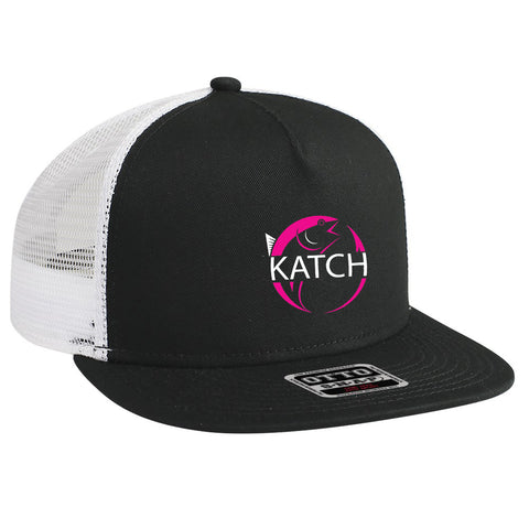 KATCH BRAND COLOR TRUCKER - BLACK HAT
