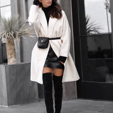 Load image into Gallery viewer, Winter Warm Solid Color Fashion Long Outerwear