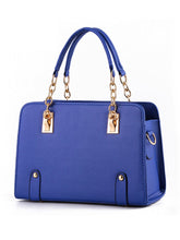 Load image into Gallery viewer, Gold Chain Handle Pu Handbag