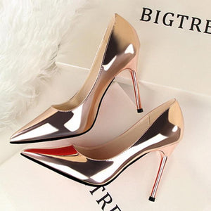 Sexy Pointed High Heels Wedding Party Shoes