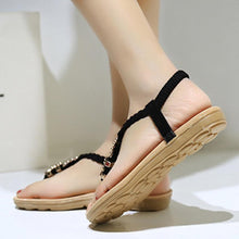 Load image into Gallery viewer, Bohemian  Flat  Casual Sandals