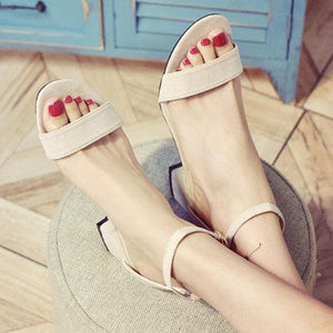 Plain  Mid Heeled  Faux Suede  Casual Pumps
