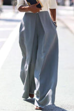 Load image into Gallery viewer, Casual Loose Pure Color Irregular Long Pants
