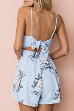 Load image into Gallery viewer, Sexy Elegant Sleeveless Floral Print Romper