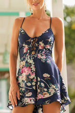 Load image into Gallery viewer, Sexy Elegant Sleeveless Floral Print Rompers