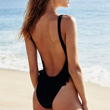 Load image into Gallery viewer, 2018 New Style Ruffle One-Piece Swimwear