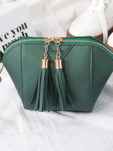 Decortive Tassel Plain  Clutches For Women
