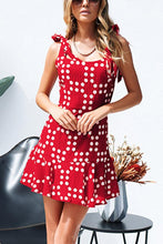 Load image into Gallery viewer, Casual Fashion Floral Print Sleeveless Mini Dress