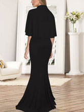 Load image into Gallery viewer, Sexy Slim Fit Sling Suit Maxi Evening Dress