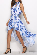 Load image into Gallery viewer, Bohemia Floral Print Beach Vacation Maxi Dress