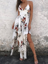 Load image into Gallery viewer, Spaghetti Strap  Printed Maxi Dress