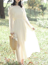 Load image into Gallery viewer, Fashion Off Shoulder Blinding Chiffon Maxi Dress