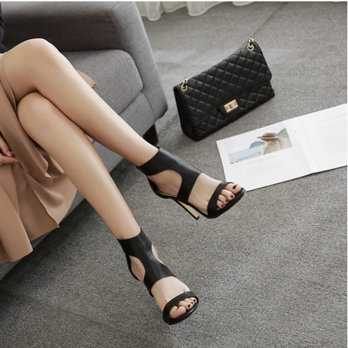 Fashion Hollow Out Thin High Heel Sandal