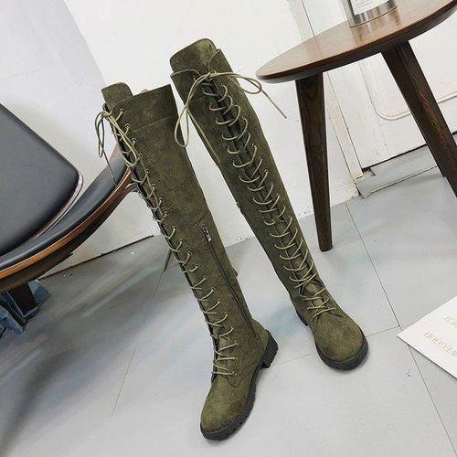Fashion Winter Blinding Knee-High Boots
