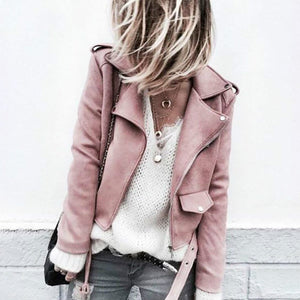 Fashion Plain Jacket Outerwear