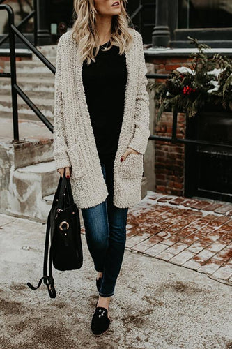 Fashion Knit Double Sweater Cardigan