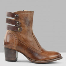 Load image into Gallery viewer, Winter/Autumn Leisure Round Head Low Heel Short Martin Boots