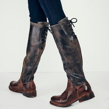 Load image into Gallery viewer, Fashion Women Low Heel Long Boots