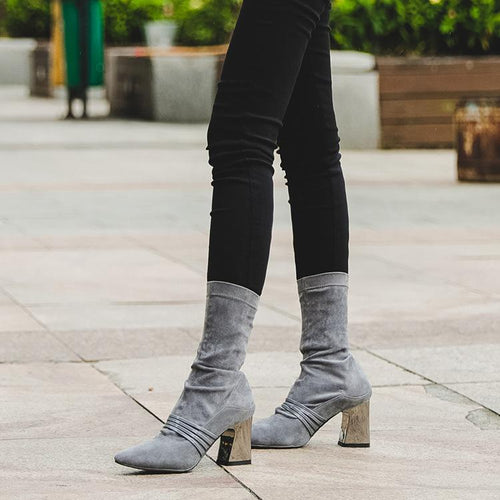 Fashion High Heel Boots