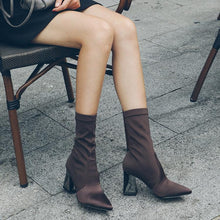 Load image into Gallery viewer, Fashion Women High Heel Long Boots