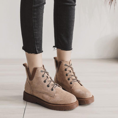 Fashion Suede Winter/Fall Chic Boots