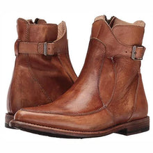 Load image into Gallery viewer, Fashion & Cofortable Leather Flat Boots