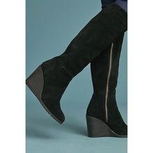 Load image into Gallery viewer, Fashion High Heel Women Winter Suede Boots