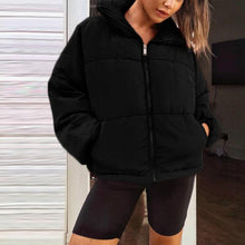 Load image into Gallery viewer, Fashion Long Sleeve Zipper Casual Winter Cotton Coat