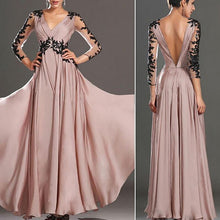 Load image into Gallery viewer, Pink Elegant Lace Wedding Banquet Dress