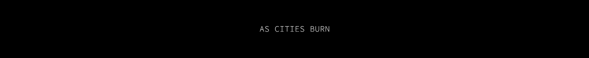 As Cities Burn logo