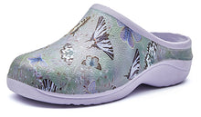 Load image into Gallery viewer, Butterfly Garden Clogs Backdoorshoes®