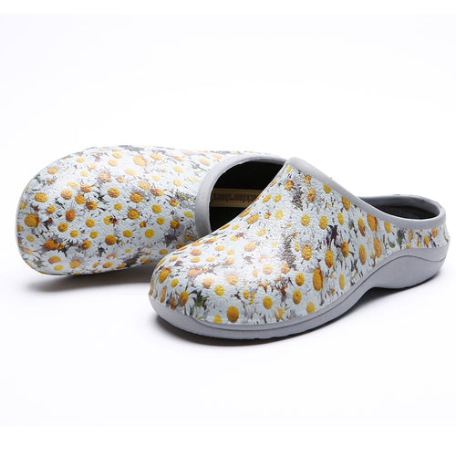 Daisy Garden Clogs Backdoorshoes