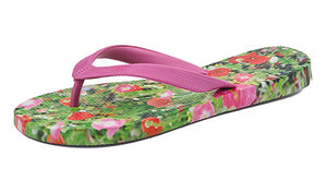 Poppy & Cosmos Ladies Flip Flops