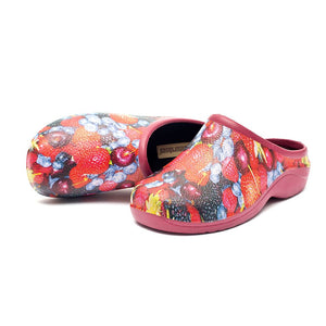 Berries Garden Clogs Backdoorshoes®