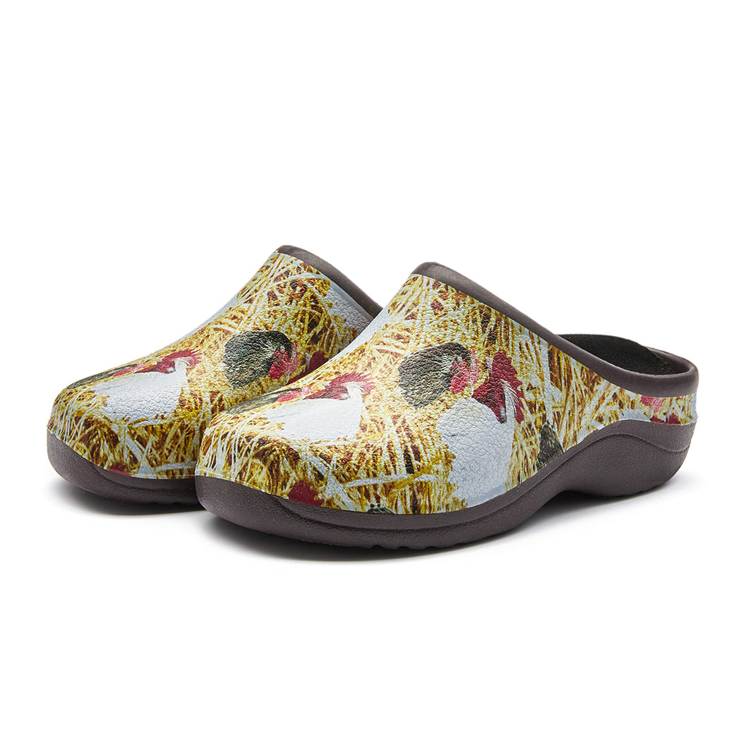 Chicken Garden Clogs Backdoorshoes®