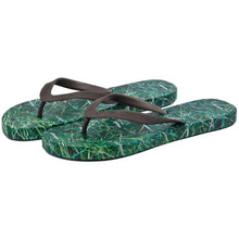 Load image into Gallery viewer, Grass Mens Flip Flops