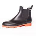 Load image into Gallery viewer, Jumpy Chelsea Boot  - Noir & Orange