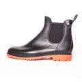 Jumpy Chelsea Boot  - Noir & Orange