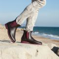 Load image into Gallery viewer, Jumpy Chelsea Boot  - Marron & Bordeaux