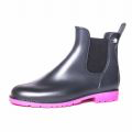 Jumpy Chelsea Boot  - Anthracite & Fuchsia