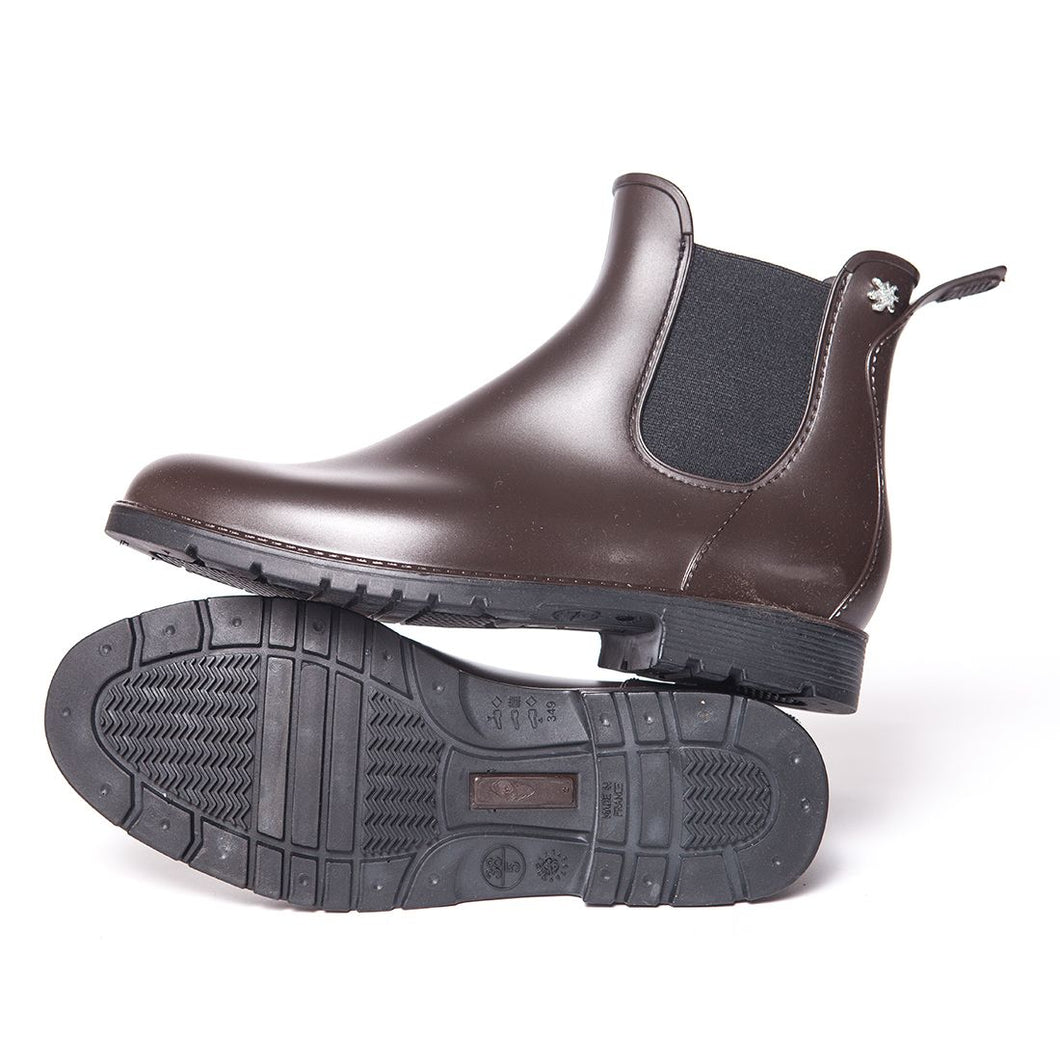 Jumpy Chelsea Boot  - Marron  & Noir