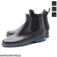 Load image into Gallery viewer, Mens Jumpy Chelsea Boots Marron Pétrole
