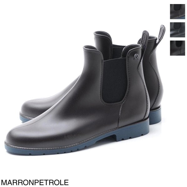 Mens Jumpy Chelsea Boots Marron Pétrole