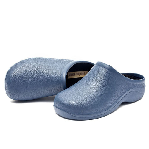 Navy Backdoorshoes® - Medical-Workwear-Leisure