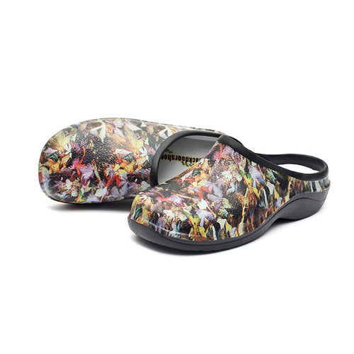 Small Leaves Garden Clogs Backdoorshoes®