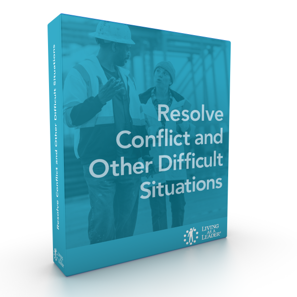 Resolve Conflict and Other Difficult Situations eLearning Course