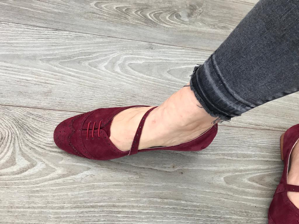 Swing Shoe - Burgundy